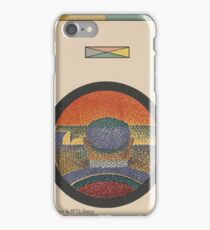 Application of Mr. Ch. Henry's Colour Circle , Paul Signac iPhone Case/Skin