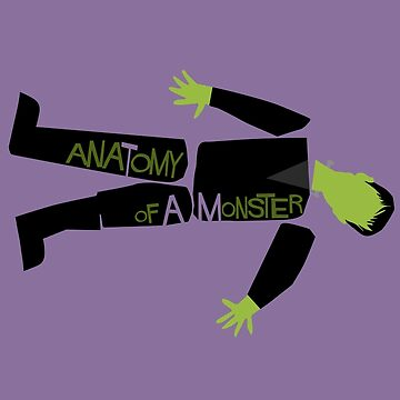 Anatomy of a Monster: Frankenstein by Paulychilds