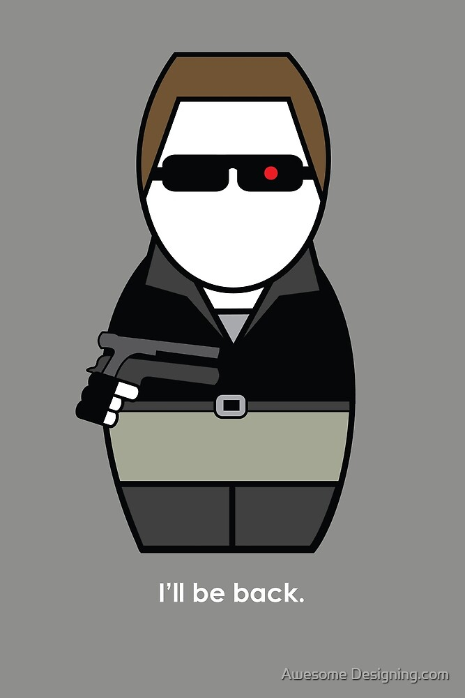 Terminator  by Awesome Designing.com