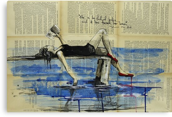 She Is Too Fond of Books by Sara Riches