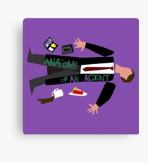 Anatomy of an Agent Canvas Print