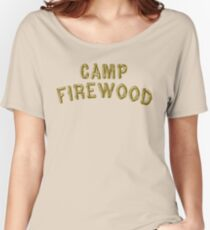 Wet Hot American Summer - Camp Firewood Women's Relaxed Fit T-Shirt