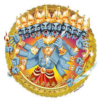 Ravana / Shivas World von Swen-Marcel
