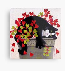 Love Pot Metal Print
