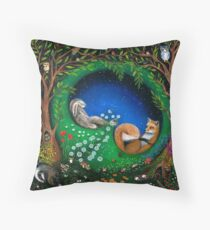 Midsummer Night's Dream Throw Pillow