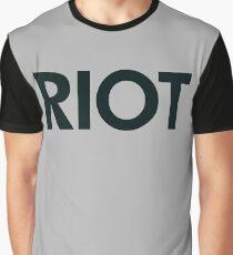 Riot (black) Graphic T-Shirt