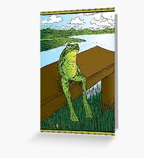 Frog Life Greeting Card