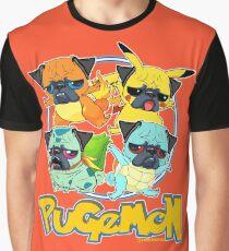 Camiseta gráfica Pugemon