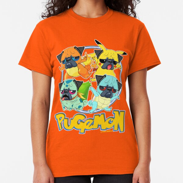 Pugemon Classic T-Shirt