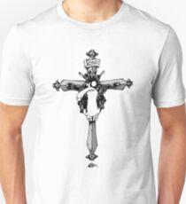 Jesus was a punk penguin Unisex T-Shirt