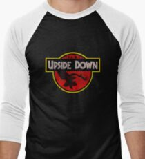 Camiseta ¾ bicolor para hombre Upside Down