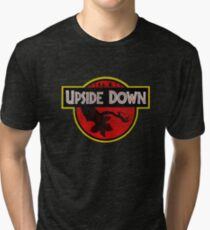 Upside Down Tri-blend T-Shirt