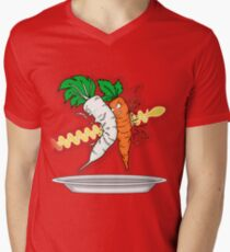 Makanko-salad!!! Men's V-Neck T-Shirt