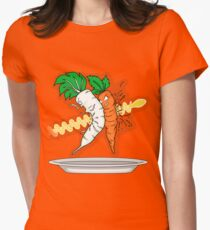 Makanko-salad!!! Women's Fitted T-Shirt