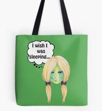 Sleepy Turtle Tote Bag