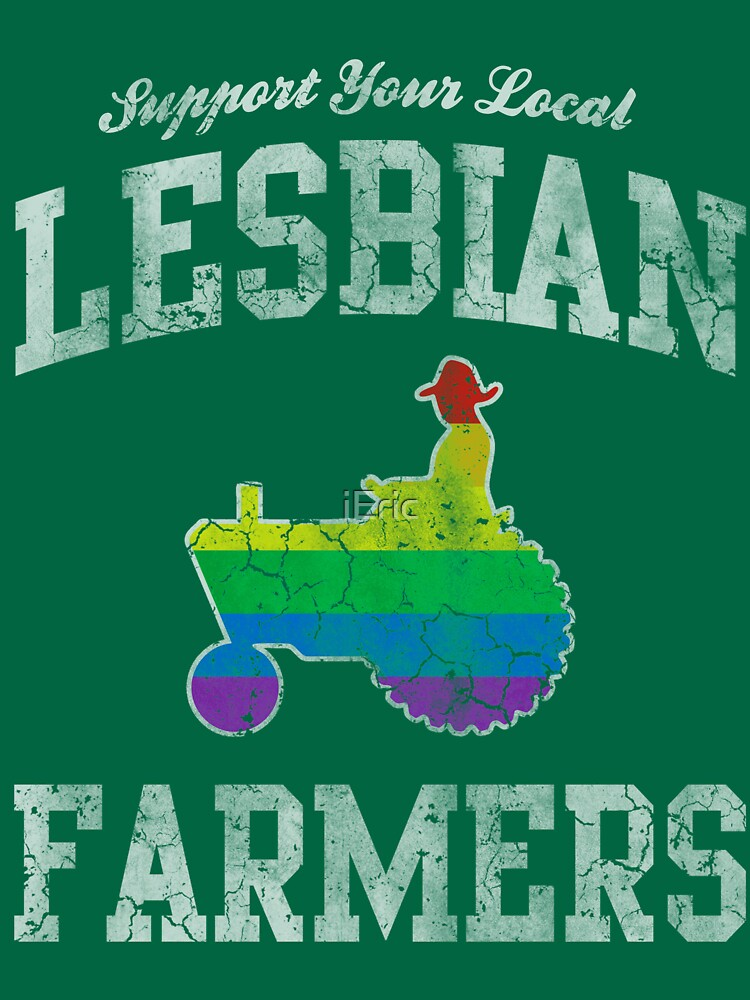 Support Your Local Lesbian Farmers | Unisex T-Shirt