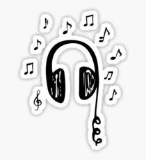 Music Speaks Sticker