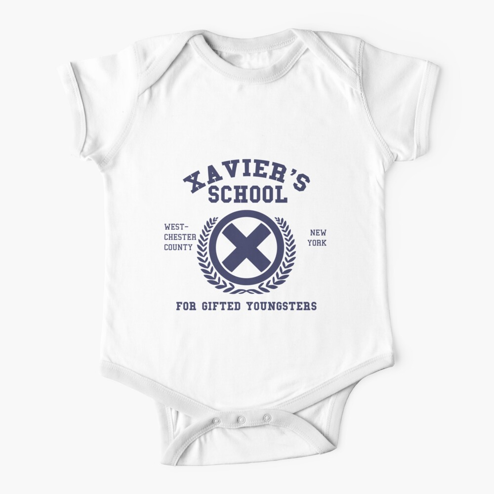 Xavier's School for Gifted Youngsters Baby One-Piece