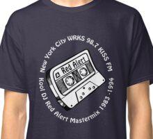 DJ Red Alert 98.7 Kiss FM Mix Tape [wht] Classic T-Shirt