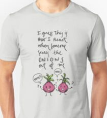 Onions (black) Unisex T-Shirt