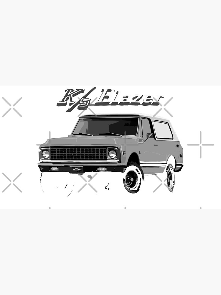 Vintage Chevy K5 Blazer Truck  by FromThe8Tees