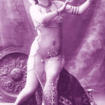 A vintage female dancer photograph by ClassicNudes