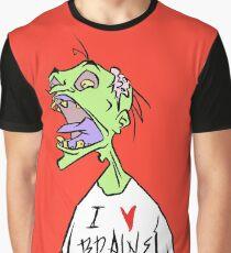 Brains! Graphic T-Shirt
