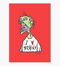 Brains! Photographic Print