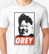 Kim Jong Un OBEY T-Shirt