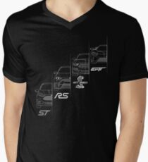 Ford Performance (White) Men's V-Neck T-Shirt