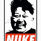 KIM JONG UN NUKE by Thelittlelord