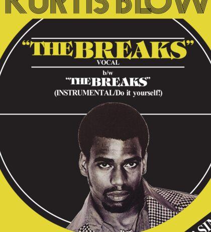 "The Breaks (original 12"" cover) Sticker"
