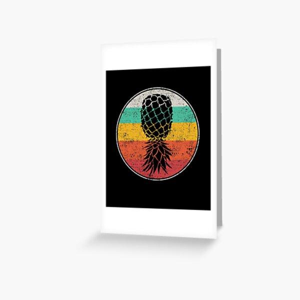 Swingers Pineapple for Swinger Men Women Greeting Card