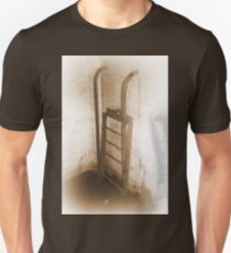 Battery Mishler ladder going nowhere, sepia Unisex T-Shirt