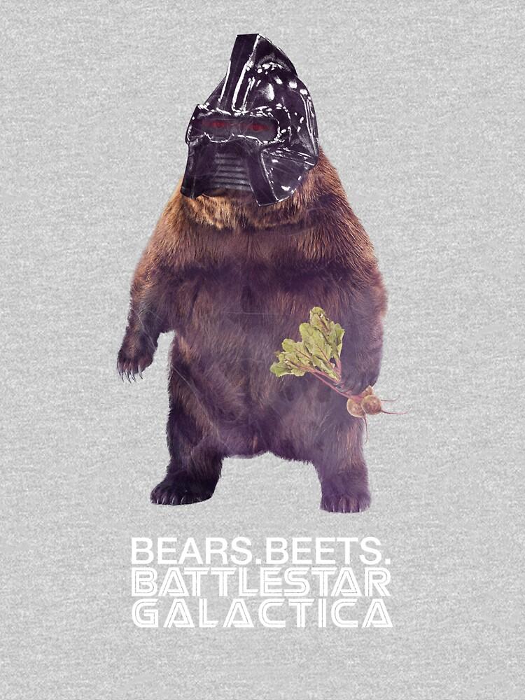 Bears Beets Battlestar Galactica | Unisex T-Shirt