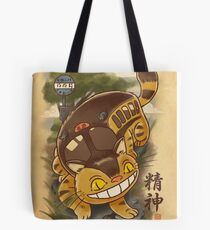Traditional Nekobasu  Tote Bag