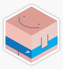 Sun Cube Sticker