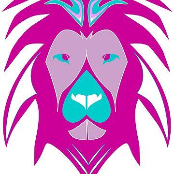 Cool Lion Design by Boscy