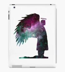 Castiel Sihouette: Space iPad Case/Skin