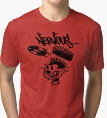 Nervous Records Tri-blend T-Shirt