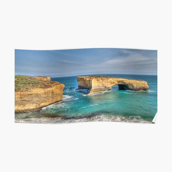 London Arch, Great Ocean Road, Victoria Poster