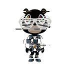 Kanye west graduation bear- Distorted by sarahcatdesign