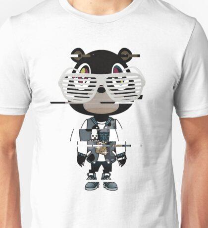 Kanye west graduation bear- Distorted Unisex T-Shirt