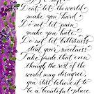 A beautiful place KurtVonnegut inspirational quote by Melissa Goza