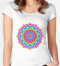 Marker Mandala Women's Fitted Scoop T-Shirt