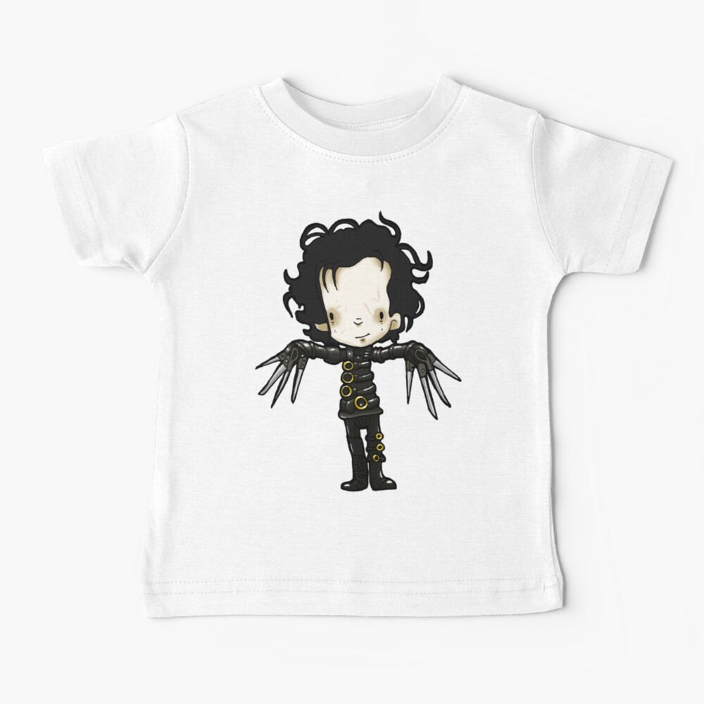 Edward with the hands of Scissors Baby T-Shirt