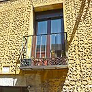Segovia, Spain - Romantic balcony by Michelle Falcony