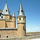 Segovia, Spain - Segovia Castle by Michelle Falcony