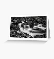 Aqua Mystic  Greeting Card