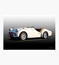 Triumph TR3A 'Supercharged' II  Photographic Print